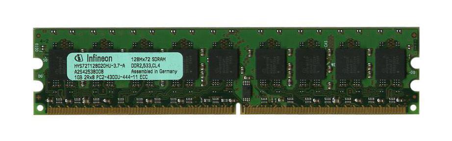 M4L Certified 1GB 533MHz DDR2 PC2-4200 Reg ECC CL4 240-Pin Dual Rank x8 DIMM Mfr P/N M4L-PC2533D2D8R4-1G