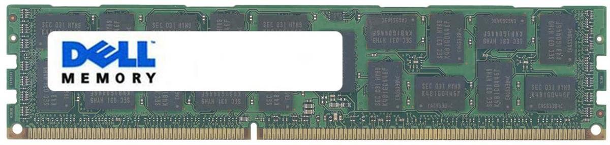 Dell 16GB Kit (8 X 2GB) PC2-3200 DDR2-400MHz ECC Registered CL3 240-Pin DIMM Single Rank Memory Mfr P/N J7312