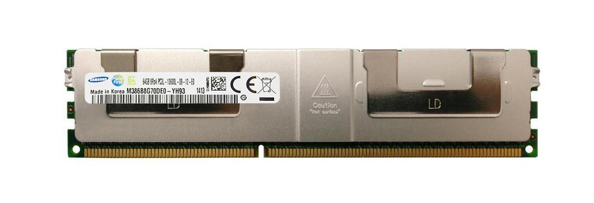 M4L Certified 64GB 1333MHz DDR3 PC3-10600 Reg ECC CL9 240-Pin Quad Rank x4 1.35V Low Voltage LRDIMM Mfr P/N M4L-PC31333LR-64G