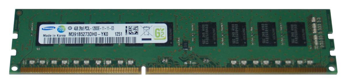 M4L Certified 4GB 1600MHz DDR3 PC3-12800 ECC CL11 240-Pin Dual Rank x8 1.35V Low Voltage DIMM Mfr P/N M4L-PC31600ED3D811DL-4G