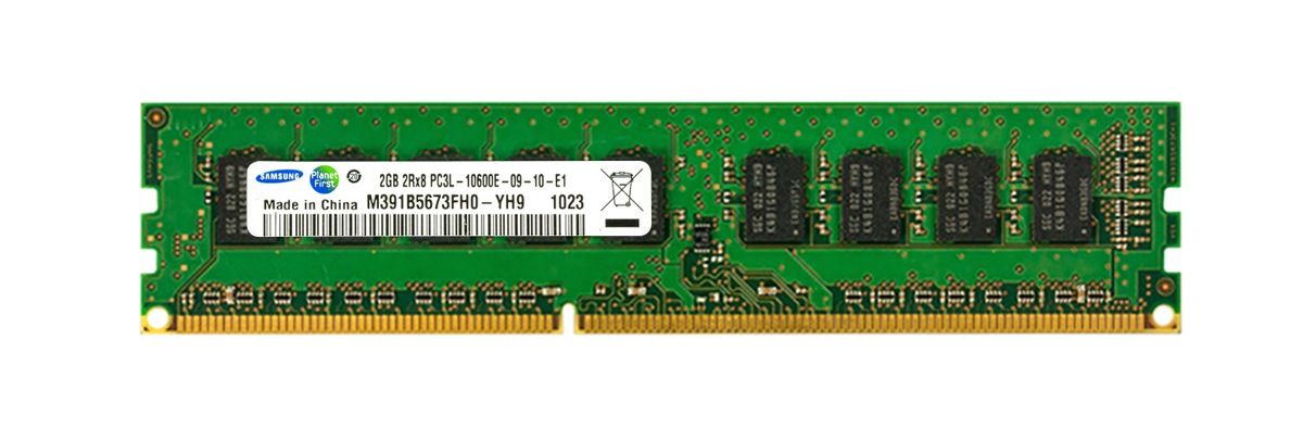 M4L Certified 2GB 1333MHz DDR3 PC3-10600 ECC CL9 240-Pin Dual Rank x8 1.35V Low Voltage DIMM Mfr P/N M4L-PC31333ED3D89DL-2G