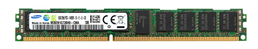 Samsung 8GB PC3-14900 DDR3-1866MHz ECC Registered CL13 240-Pin DIMM Very Low Profile (VLP) Dual Rank Memory Module Mfr P/N M392B1G73BH0-CMA