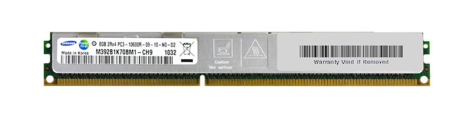 M4L Certified 8GB 1333MHz DDR3 PC3-10600 Reg ECC CL9 240-Pin Dual Rank x4 VLP DIMM Mfr P/N M4L-PC31333RD3D49DV-8G