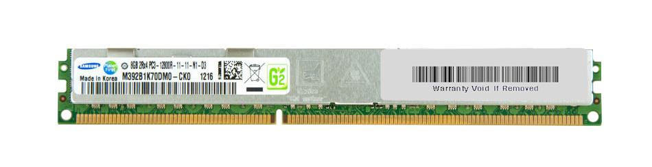 M4L Certified 8GB 1600MHz DDR3 PC3-12800 Reg ECC CL11 240-Pin Dual Rank x4 VLP DIMM Mfr P/N M4L-PC31600RD3D411DV-8G