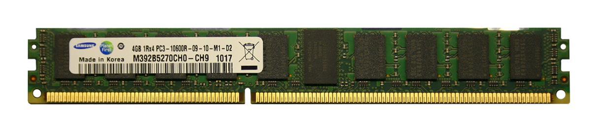 M4L Certified 4GB 1333MHz DDR3 PC3-10600 Reg ECC CL9 240-Pin Single Rank x4 VLP DIMM Mfr P/N M4L-PC31333RD3S49DV-4G