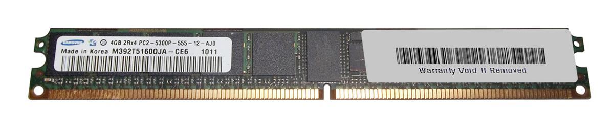 M4L Certified 4GB 667MHz DDR2 PC2-5300 Reg ECC CL5 240-Pin Dual Rank x4 VLP DIMM Mfr P/N M4L-PC2667RD2D45DV-4G