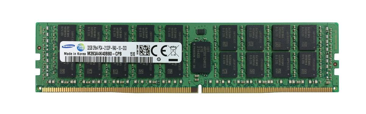 M4L Certified 32GB 2133MHz DDR4 PC4-17000 Reg ECC CL15 288-Pin Dual Rank x4 DIMM Mfr P/N M4L-PC42133RD4D415D-32G