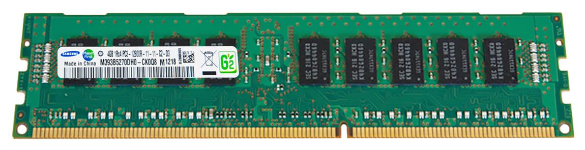 M4L Certified 4GB 1600MHz DDR3 PC3-12800 Reg ECC CL11 240-Pin Single Rank x4 DIMM Mfr P/N M4L-PC31600D3S4R11S-4G