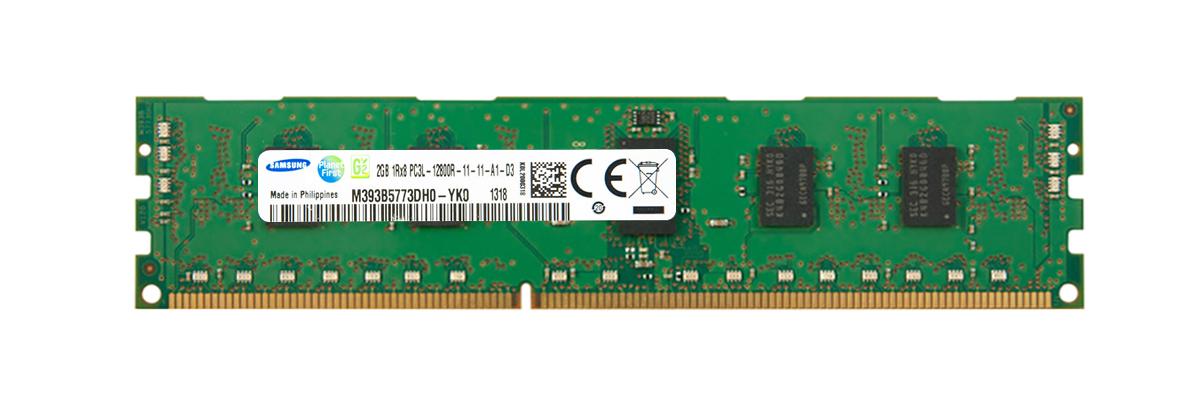 M4L Certified 2GB 1600MHz DDR3 PC3-12800 Reg ECC CL11 240-Pin Single Rank x8 1.35V Low Voltage DIMM Mfr P/N M4L-PC31600RD3S811DL-2G