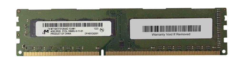 M4L Certified 4GB 1333MHz DDR3 PC3-10600 Non-ECC CL9 240-Pin Dual Rank x8 1.35V Low Voltage DIMM Mfr P/N M4L-PC31333ND3D89DL-4G