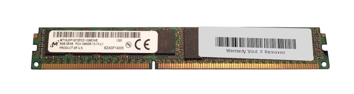M4L Certified 8GB 1866MHz DDR3 PC3-14900 Reg ECC CL13 240-Pin Dual Rank x4 VLP DIMM Mfr P/N M4L-PC31866RD3D413DV-8G