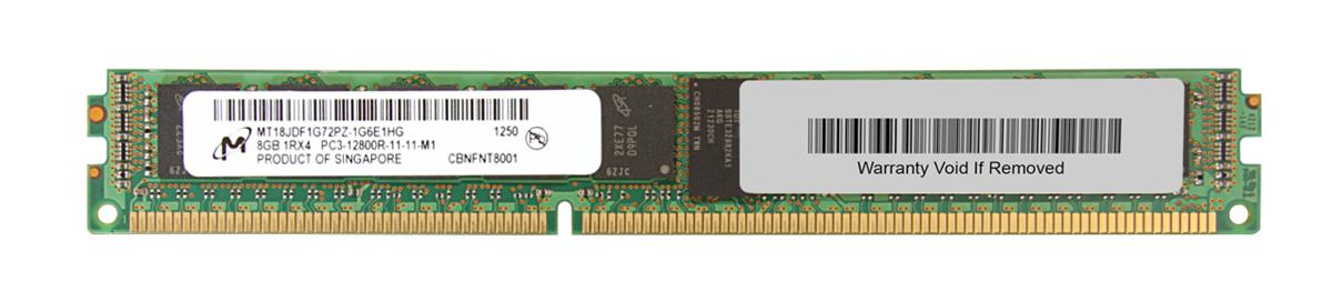 M4L Certified 8GB 1600MHz DDR3 PC3-12800 Reg ECC CL11 240-Pin Single Rank x4 VLP DIMM Mfr P/N M4L-PC31600RD3S411DV-8G