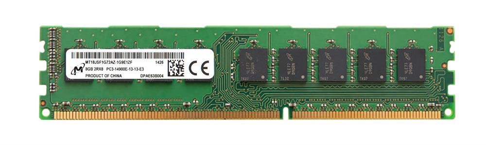 M4L Certified 8GB 1866MHz DDR3 PC3-14900 ECC CL13 240-Pin Dual Rank x8 DIMM Mfr P/N M4L-PC318E13-8