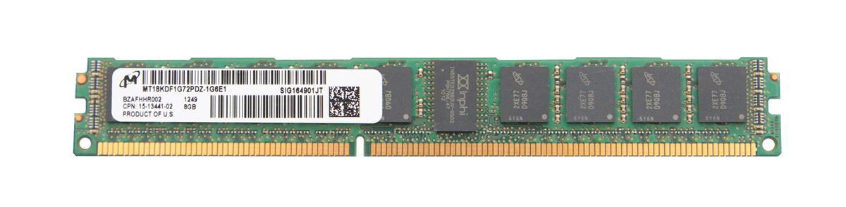 M4L Certified 8GB 1600MHz DDR3 PC3-12800 Reg ECC CL11 240-Pin Dual Rank x8 VLP 1.35V Low Voltage DIMM Mfr P/N M4L-PC31600RD3D811DVL-8G