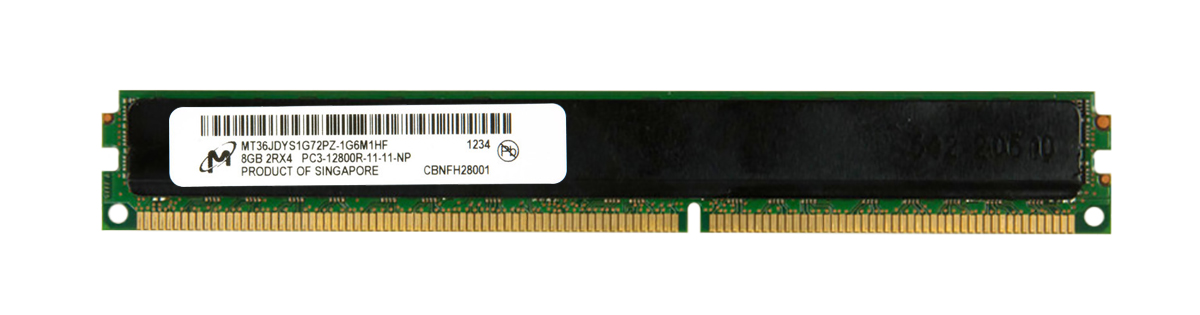 M4L-PC31600RD3D411LRD-8G M4L Certified 8GB 1600MHz DDR3 PC3-12800 Reg ECC CL11 240-Pin Dual Rank x4 LRDIMM