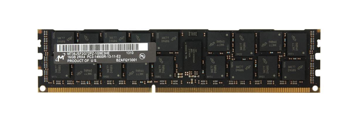 M4L Certified 16GB 1866MHz DDR3 PC3-14900 Reg ECC CL13 240-Pin Dual Rank x4 DIMM Mfr P/N M4L-PC318R13D4-16