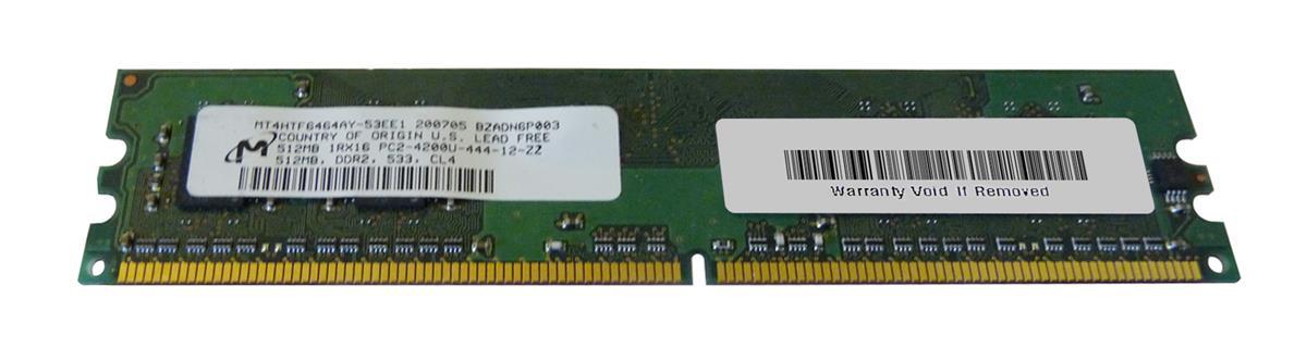 M4L Certified 512MB 533MHz DDR2 PC2-4200 Non-ECC CL4 240-Pin Single Rank x16 DIMM Mfr P/N M4L-PC2533ND2S164D-512M