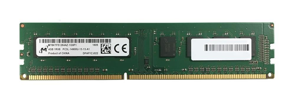 M4L Certified 4GB 1866MHz DDR3 PC3-14900 Non-ECC CL13 240-Pin Single Rank x8 1.35V Low Voltage DIMM (P/N M4L-PC31866ND3S813DL-4G)