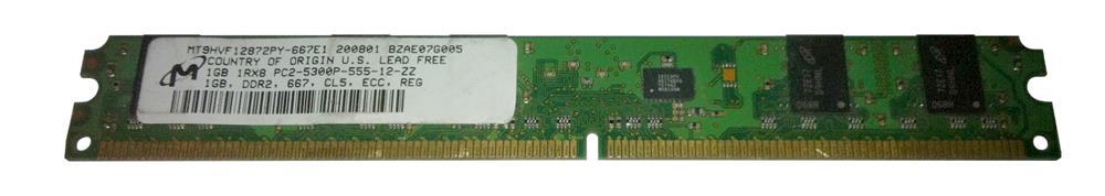 M4L Certified 1GB 667MHz DDR2 PC2-5300 Reg ECC CL5 240-Pin Single Rank x8 VLP DIMM Mfr P/N M4L-PC2667RD2S85DV-1G