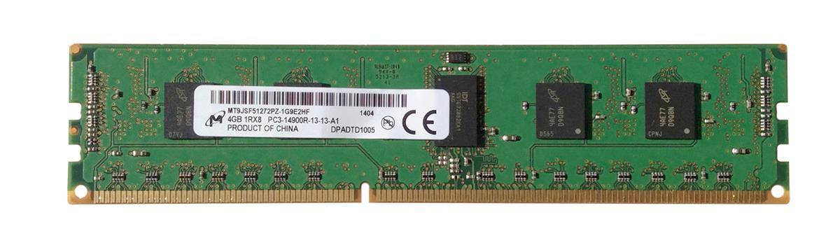 M4L-PC31866RD3S814G M4L Certified 4GB 1866MHz DDR3 PC3-14900 Reg ECC CL13 240-Pin Single Rank x8 DIMM