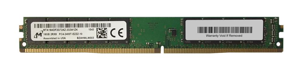 M4L-PC42400ED4D817DV-16G M4L Certified 16GB 2400MHz DDR4 PC4-19200 ECC CL17 288-Pin Dual Rank x8 VLP DIMM