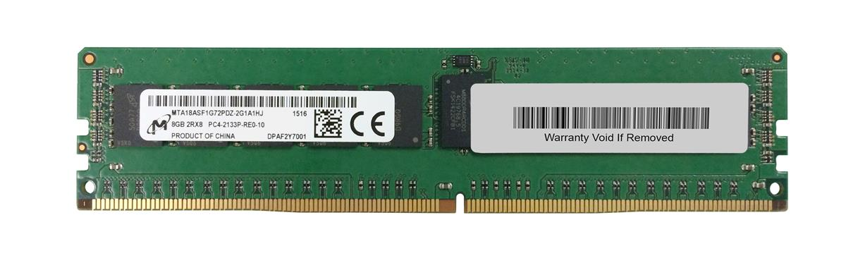 M4L Certified 8GB 2133MHz DDR4 PC4-17000 Reg ECC CL15 288-Pin Dual Rank x8 DIMM Mfr P/N M4L-PC42133RD4D815D-8G