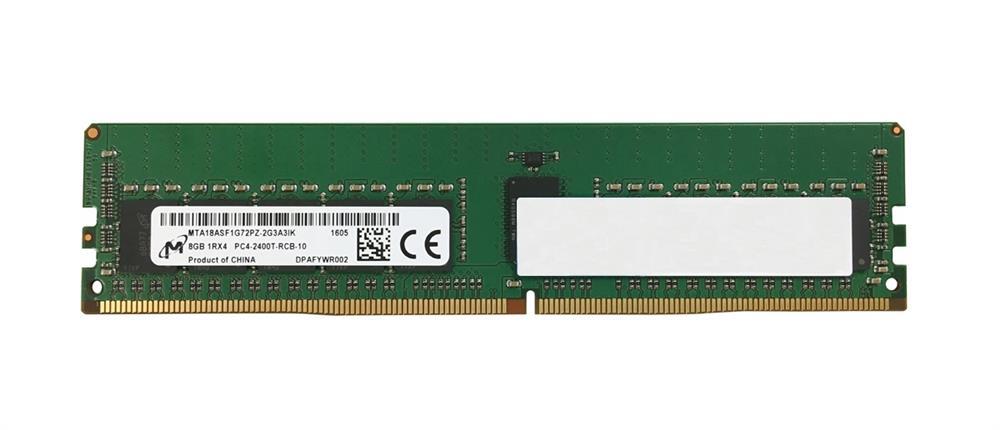 M4L Certified 8GB 2400MHz DDR4 PC4-19200 Reg ECC CL17 288-Pin Single Rank x4 DIMM Mfr P/N M4L-PC42400RD4S417D-8G