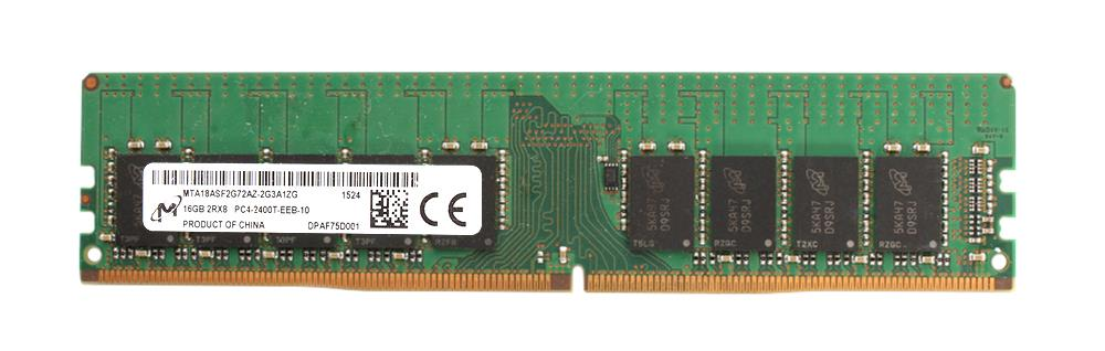 M4L Certified 16GB 2400MHz DDR4 PC4-19200 ECC CL17 288-Pin Dual Rank x8 DIMM Mfr P/N M4L-PC42400ED4D817D-16G