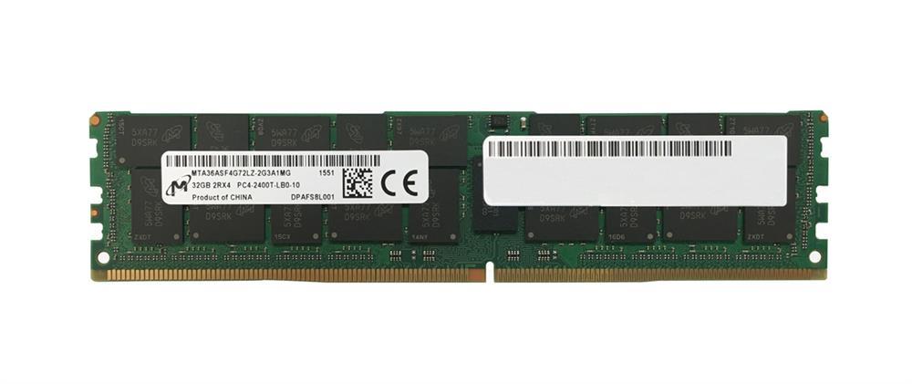 M4L Certified 32GB 2400MHz DDR4 PC4-19200 Reg ECC CL17 288-Pin Dual Rank x4 LRDIMM Mfr P/N M4L-PC42400RD4D417LRD-32G