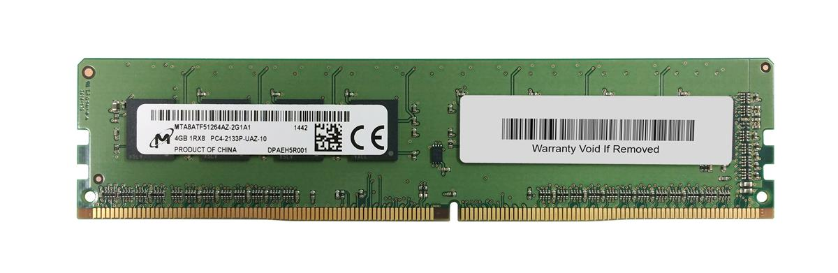 M4L-PC42133ND4S815D-4G M4L Certified 4GB 2133MHz DDR4 PC4-17000 Non-ECC CL15 288-Pin Single Rank x8 DIMM