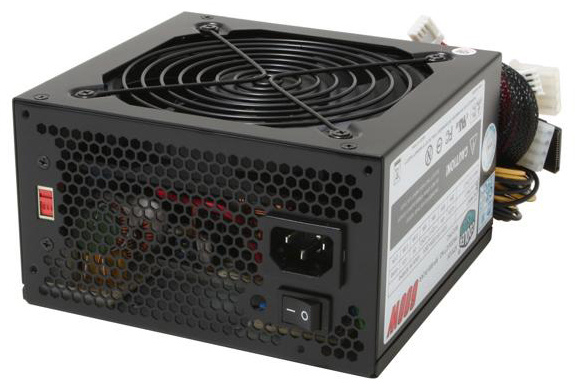 RP-600-PCAR Cooler Master eXtreme Power 600 Watts ATX 12V SLI Power Supply