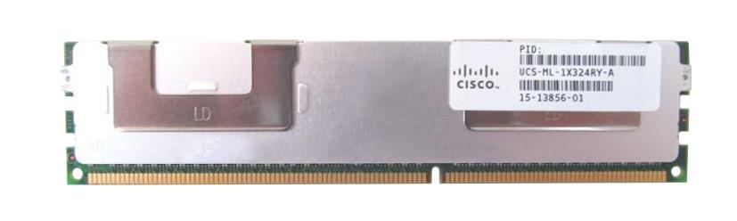 UCS-ML-1X324RY-A Cisco 32GB PC3-12800 DDR3-1600MHz ECC Registered CL11 240-Pin Load Reduced DIMM 1.35V Low Voltage Quad Rank Memory Module