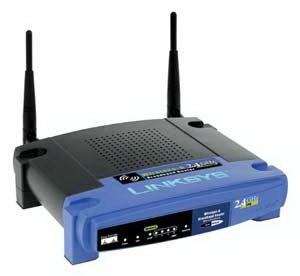Linksys Wireless-G 2.4GHz Broadband Router 54mbps 4-Port Switch (Refurbished) Mfr P/N WRT54GV5