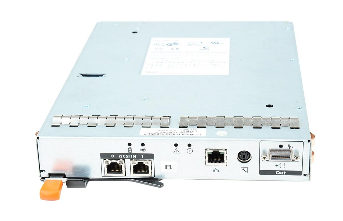 X2R63 Dell 2-Port iSCSI Controller Module for PowerVault MD3000i