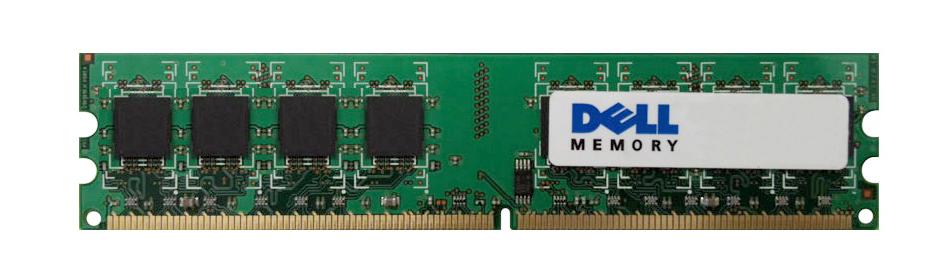 Dell 512MB PC2-3200 DDR2-400MHz non-ECC Unbuffered CL3 240-Pin DIMM Memory Module Mfr P/N X3901