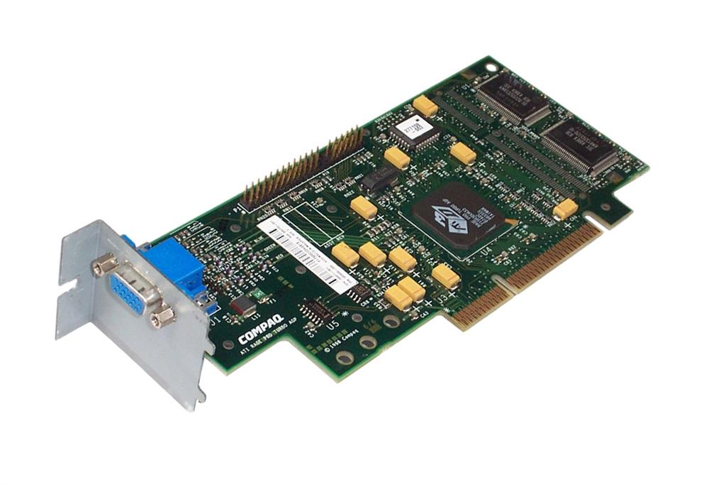 166871-001 HP Rage Pro Turbo 4MB SGRAM AGP Video Graphics Card