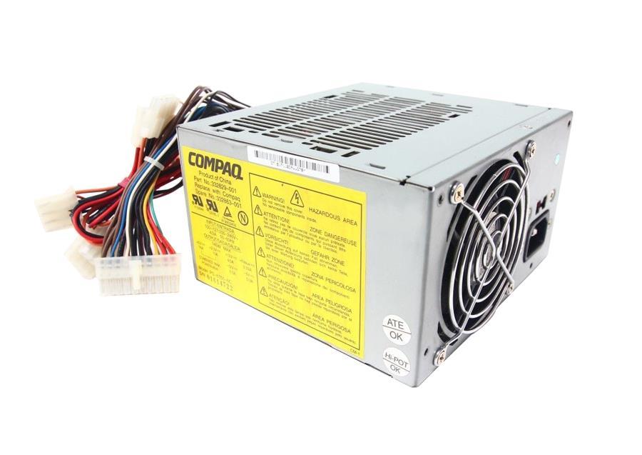 HP 145-Watts 110-240V AC ATX Switching Power Supply Mfr P/N 332829-001