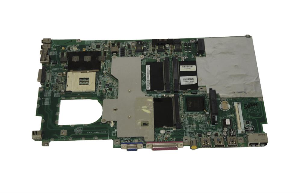 344879-001 HP System Board (MotherBoard) for Pavilion ZD7000 with Integrated Nvidia Geforce FX Graphics Notebook PC (Refurbished)