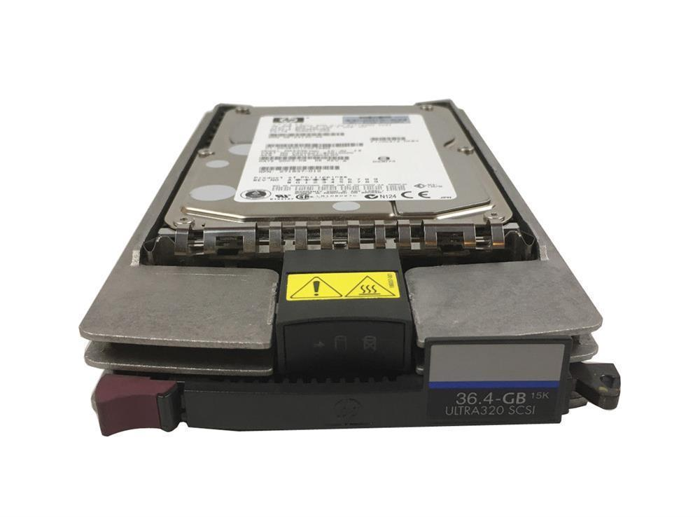 356914-007 HP 36.4GB 15000RPM Ultra-320 SCSI 80-Pin LVD Hot Swap 3.5-inch Internal Hard Drive