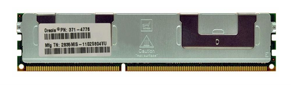 371-4776 Sun 8GB PC3-8500 DDR3-1066MHz ECC Registered CL7 240-Pin DIMM Dual Rank Memory Module for Sun Fire X4470 Server