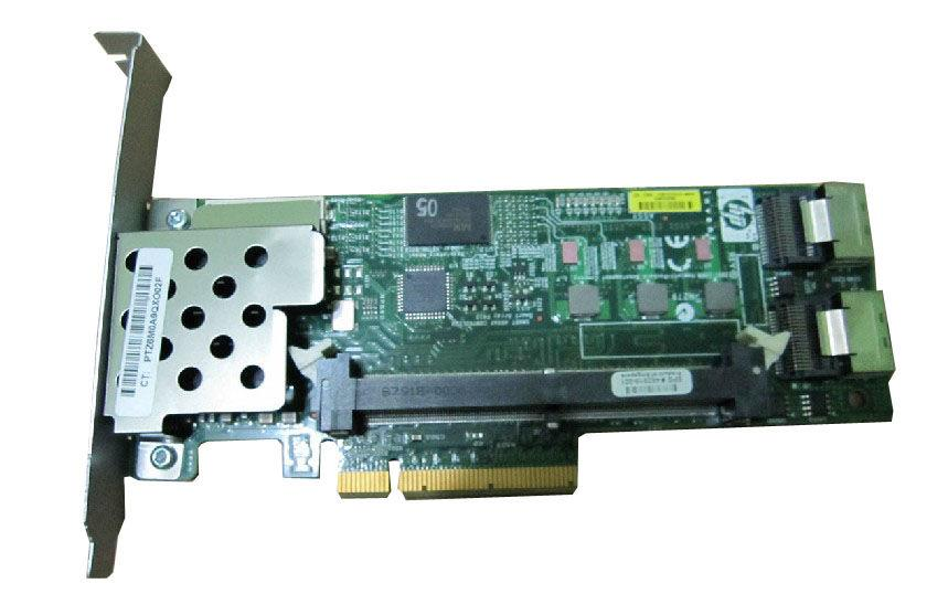 HP Smart Array P410 256MB Cache SAS 3Gbps / SATA 1.5Gbps PCI Express 2.0 x8 0/1/5/10/50/60 RAID Controller Card Mfr P/N 462862-B21