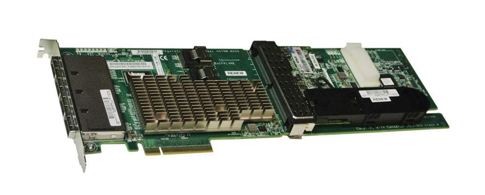 HP Smart Array P812 1GB Cache SAS 6Gbps / SATA 3Gbps PCI Express 2.0 x8 0/1/5/6/50/60 RAID Controller Card Mfr P/N 487204-B21