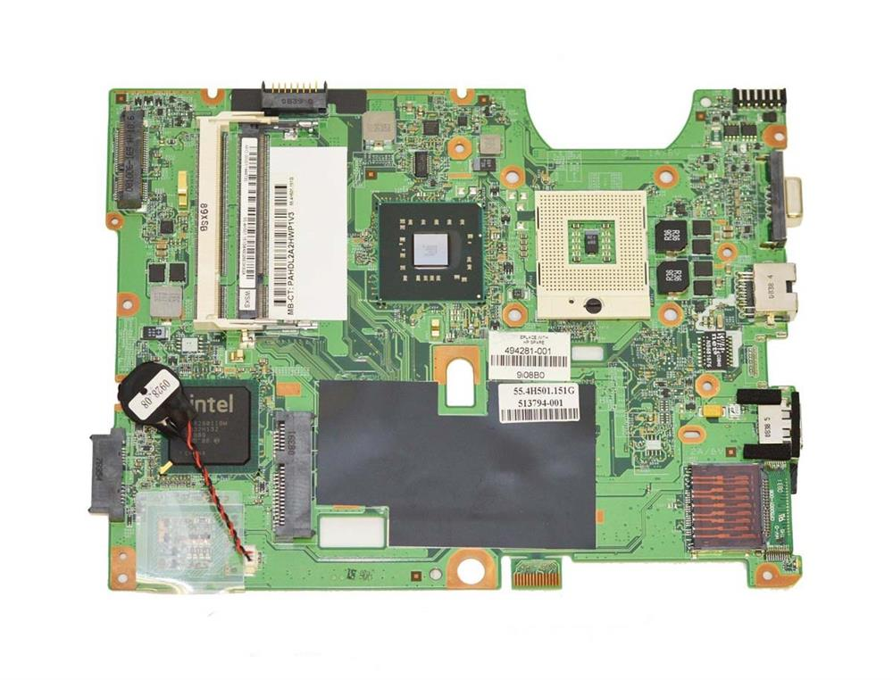 513794-001 HP System Board (MotherBoard) for CQ50/CQ60 Notebook PC (Refurbished)