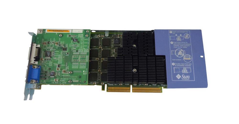 Sun Microsystems XVR-1000 Graphics Accelerator Mfr P/N 540-5476