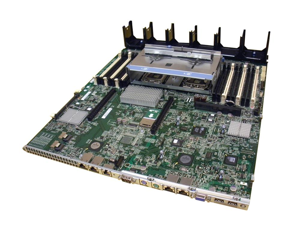 599038-001 Compaq System Board (Motherboard) No CPU Cage for ProLiant DL380 G7 Server (Refurbished)