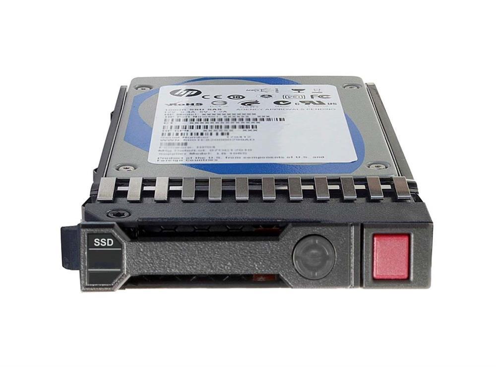 653124-B21 HP 200GB MLC SATA 3Gbps Enterprise Mainstream 3.5-inch Internal Solid State Drive (SSD) with Smart Carrier