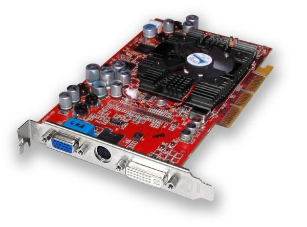 7T753 Dell 128MB ATI Radeon 9700 DDR DVI Video Graphics Card