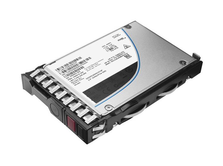 868830-B21 HPE 3.84TB MLC SATA 6Gbps Hot Swap Read Intensive 2.5-inch Internal Solid State Drive (SSD) with Smart Carrier for ProLiant Gen9 Server
