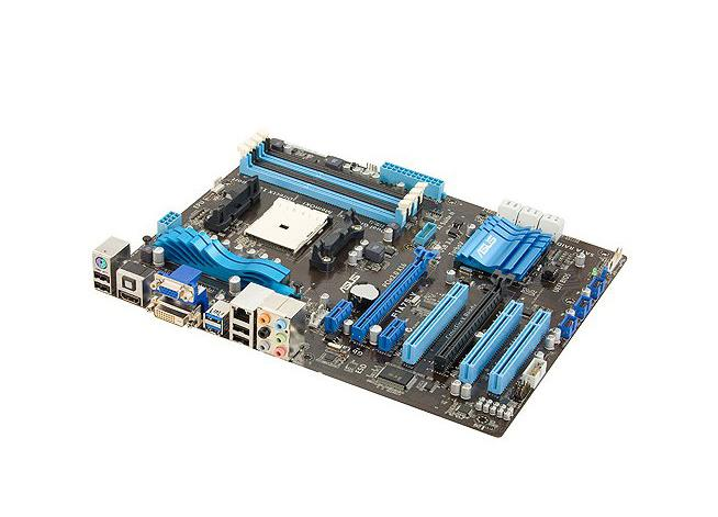90-MIBH70-G0EAY0DZ ASUS Socket FM1 AMD A75 Chipset AMD A-Series/ AMD E2-Series Processors Support DDR3 4x DIMM 6x SATA 6.0Gb/s ATX Motherboard (Refurbished)