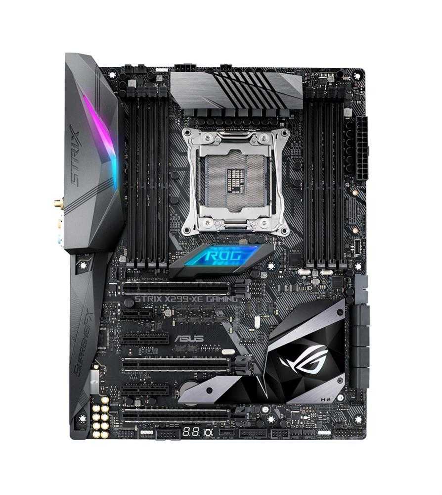 90MB0VW0-M0EAY0 ASUS ROG STRIX X299-XE GAMING Socket 2066 Intel X299 Chipset Core X-Series Processors Support DDR4 8x DIMM 8x SATA 6.0Gb/s ATX Motherboard (Refurbished)